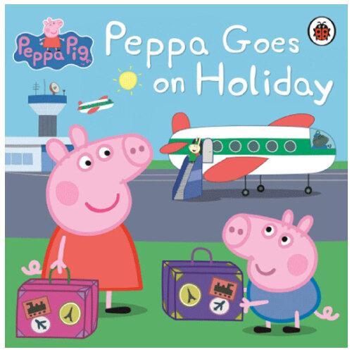 peppa pig peppa goes on holiday粉红猪小妹 去度假 小猪佩奇 英文