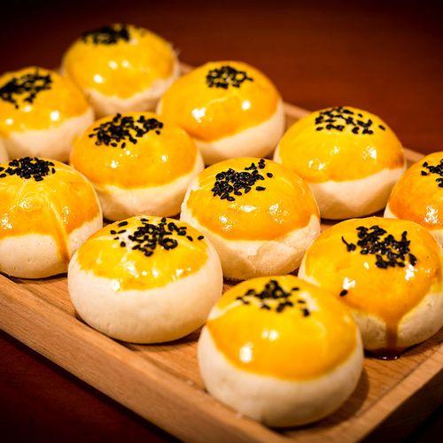 咸蛋黄酥早餐面包整箱好吃的零食小吃排行榜糕点心休闲食品 【红豆味
