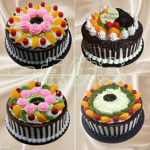 一点仿真蛋糕新款10寸欧式婚庆庆典塑胶蛋糕生日礼物水果蛋糕模型
