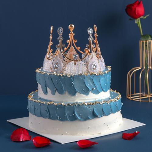 【5磅双层】女王驾到-鲜果蛋糕