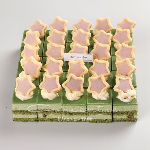 抹茶慕斯蛋糕 下午茶绿茶生日蛋糕新鲜创意婚庆个性