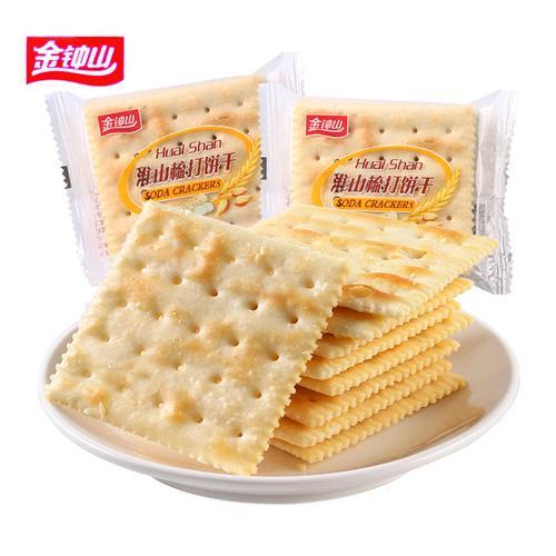 金钟山淮山梳打饼干咸味代餐零食散装称重苏打饼干