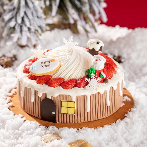 圣诞许愿屋蛋糕 (涪陵/綦江)