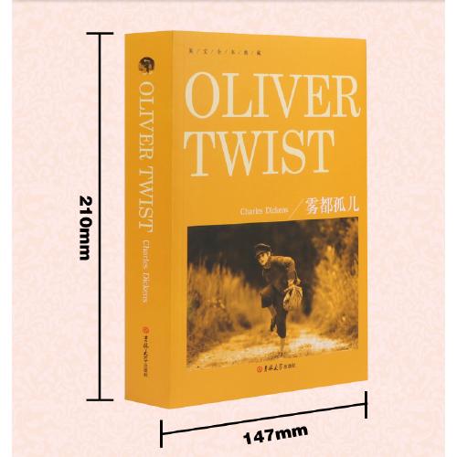 雾都孤儿英文版原版 oliver twist 查尔斯狄更斯 全本