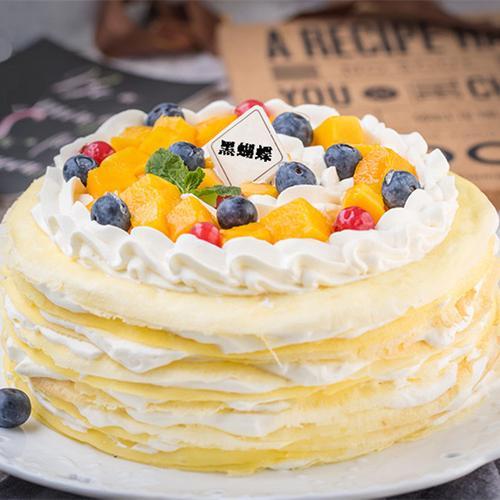 千层蝶恋 | 芒果千层蛋糕