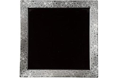 arabeske 26cm方形板(黑色) mt-ab-001