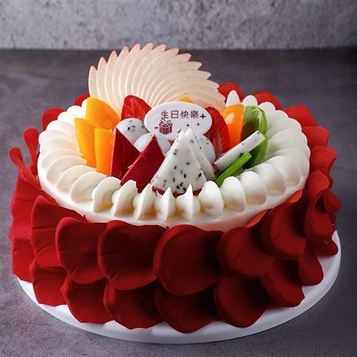 节展示蛋糕样品生日r蛋糕仿真模型可定制创意有趣