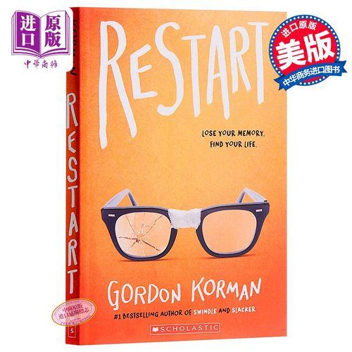 重新开始 英文原版 restart 小说 gordon korman