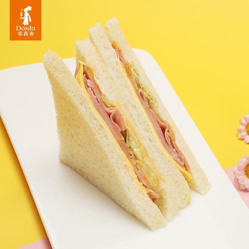 【限量抢购】芝士火腿三明治1个-110g/个(长沙)