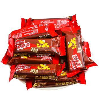 【部分三免一】雀巢鲨明治脆脆鲨威化饼干640g等多规格巧克力花生牛奶