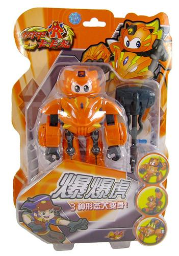 正版钢甲卡卡龙儿童宝宝玩具鼠十二生肖动物机器人