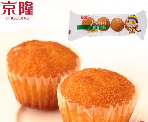 京隆椰蓉迷你小蛋糕网红甜品面包烘焙椰丝球糕点心休闲零食小吃 椰蓉