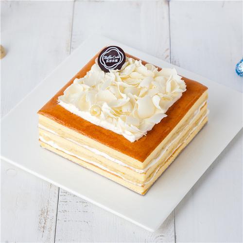 榴莲裸蛋糕