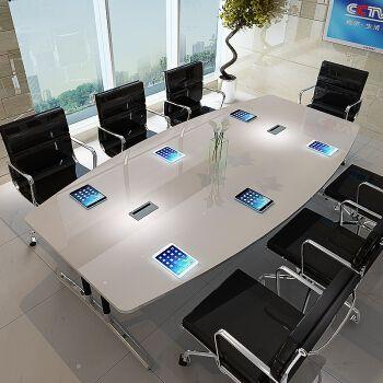 会议桌 会客洽谈接待桌 职员办公桌 电脑桌 培训桌  2.0*1.