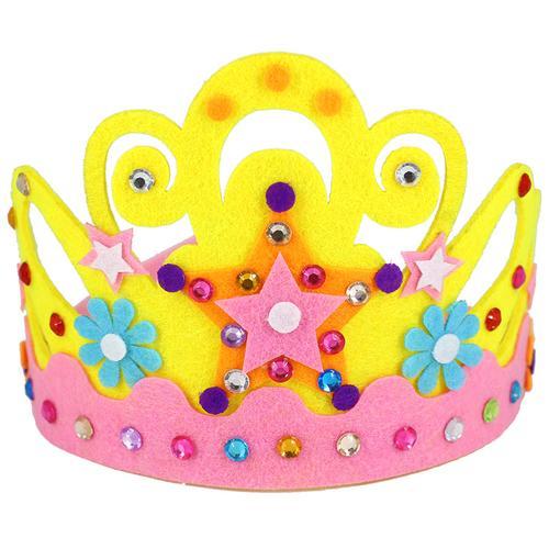 不织布 儿童手工制作生日帽头饰幼儿园  fuse迪芙斯