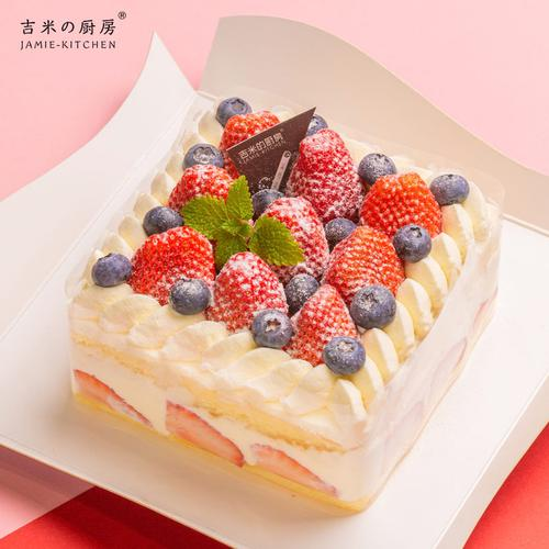 吉米的厨房 莓开眼笑 草莓奶油蛋糕