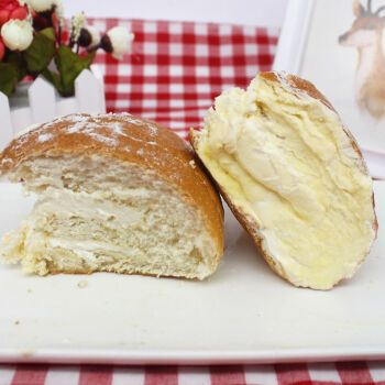 网红西式糕点奶酪包原味奶油夹心面包零食蛋糕甜点烘焙小吃脏脏包 1个