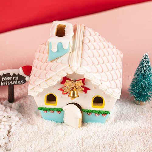 翻糖姜饼屋圣诞饼干圣诞树 翻糖树雪人房子圣诞模套装