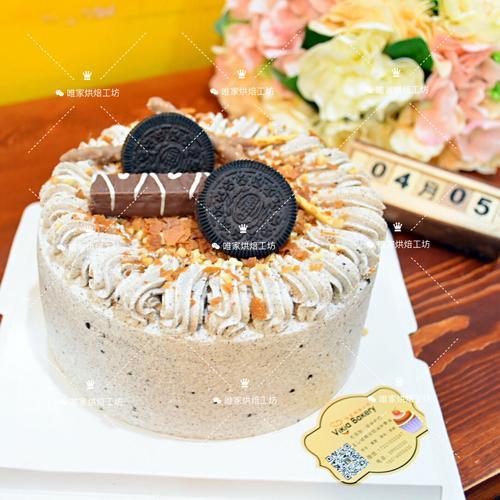 巧克力薄脆咸奶油蛋糕