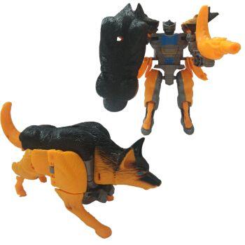 猛兽侠超能勇士变形玩具金刚犀牛黄蜂霸王龙黑猩猩白虎黄豹恐龙 金刚