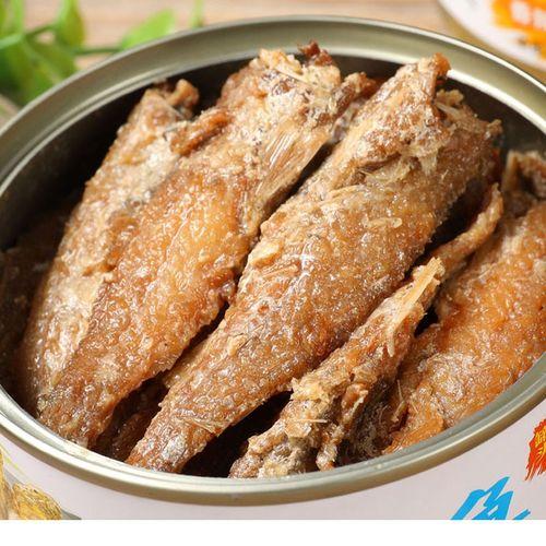 黄花鱼罐头海鲜罐头即食水产下饭菜休闲零食海鲜制品