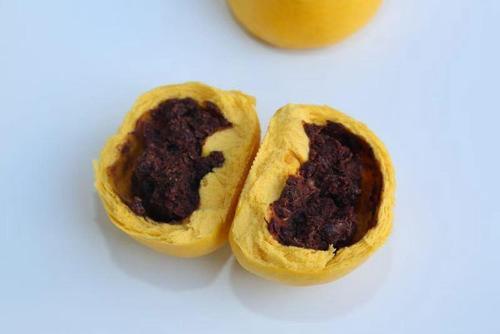 山东老面引子馒头纯手工南瓜红豆包早餐速食每个100克