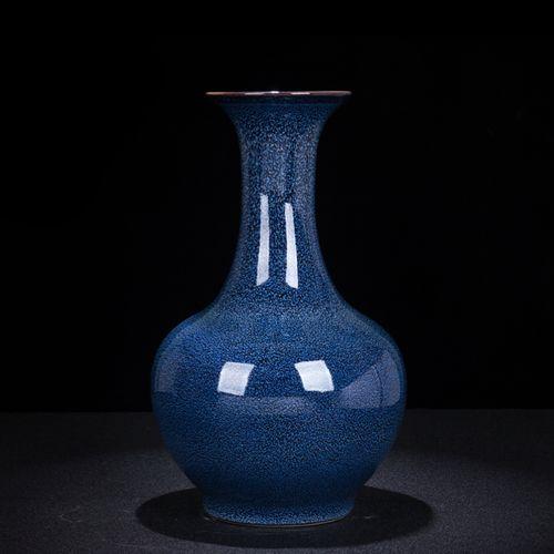景德镇陶瓷 新中式窑变釉插花器 家居客厅玄关花瓶