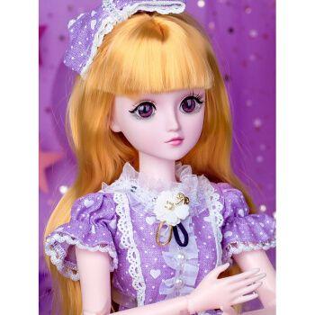 芭比娃娃大号超大玩具套装女孩巴比公主洋娃娃仿真精致娃娃礼盒单个会