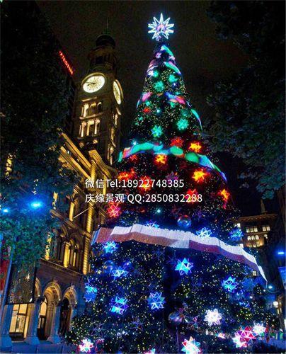 大型圣诞树5米圣诞树装饰大型商场装饰树仿真圣诞树5m