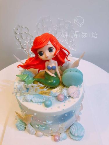 【海的女儿/美人鱼公主】乳脂蛋糕