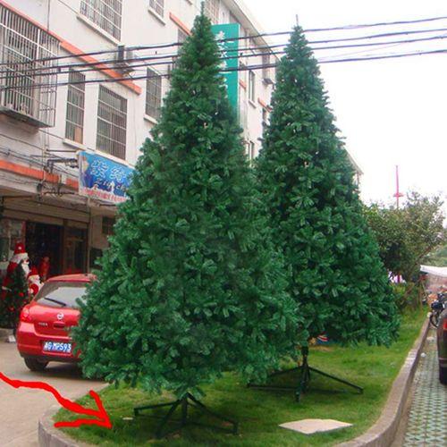 6米大型圣诞树加密商城酒店室内大厅中庭场景装饰圣诞树5米仿真树