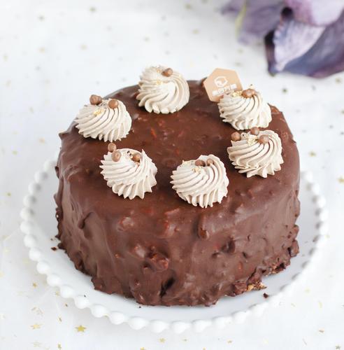 【推荐】梦龙脆皮咖啡巧克力戚风蛋糕-超级好吃!
