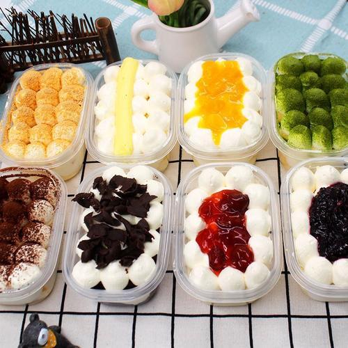豆乳盒子网红蛋糕 新鲜慕斯千层蛋糕多口味奶油蛋糕