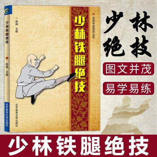 正版 少林铁腿 武术书籍 少林武功秘籍 腿法入门 古传