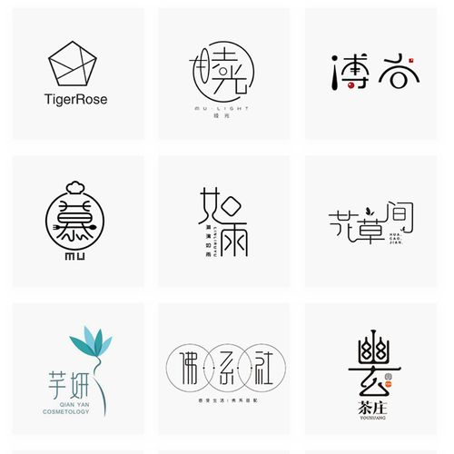 取名logo设计注册商标品牌公司名字店铺店名蛋糕奶茶