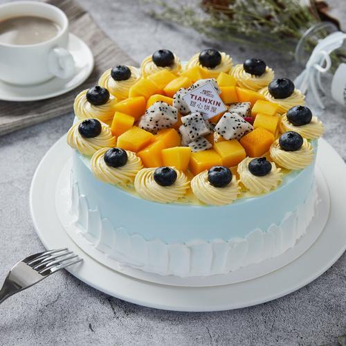 鲜果多乐  水果蛋糕 88元/磅(1磅起订)