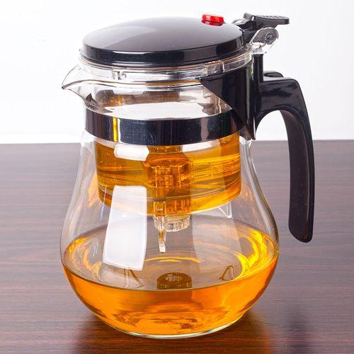 凯立重压耐热玻璃杯可拆洗过滤内胆花茶玲玲杯茶具茶壶冲茶器