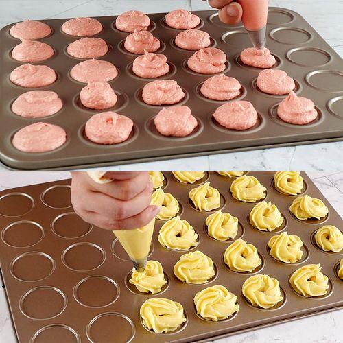 马卡龙模具 不粘曲奇饼干模具曲奇烤盘 烤箱用做曲奇