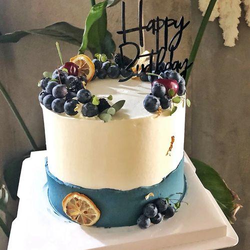 仿真水果蛋糕模型双层水果蛋糕暴富蛋糕新款网红草莓