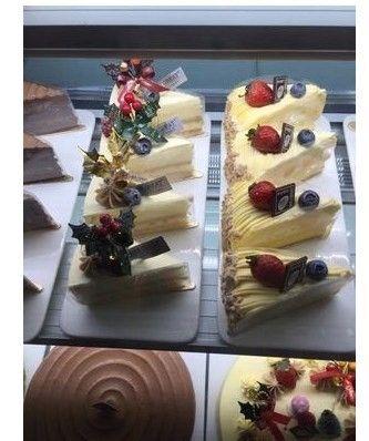 康和甜品台蛋糕架套长方展示盘西点托盘蛋糕店冷柜西点柜盘慕斯盘