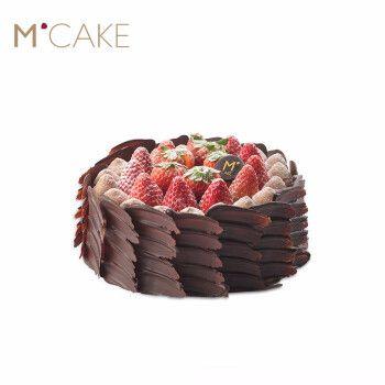 mcake mcake甜甜莓莓生日蛋糕巧克力草莓蛋糕 2磅