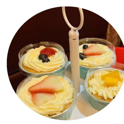 翻糖菠萝布丁装饰冰激凌纽扣可爱冰块模寿桃冰格过年