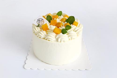 5寸芒果可心小蛋糕