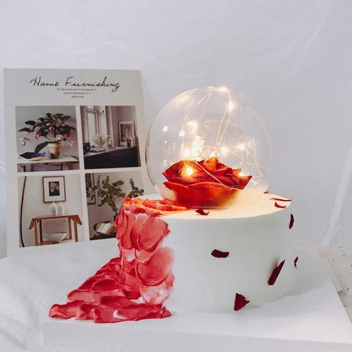 【永生花】-生日蛋糕/女孩蛋糕