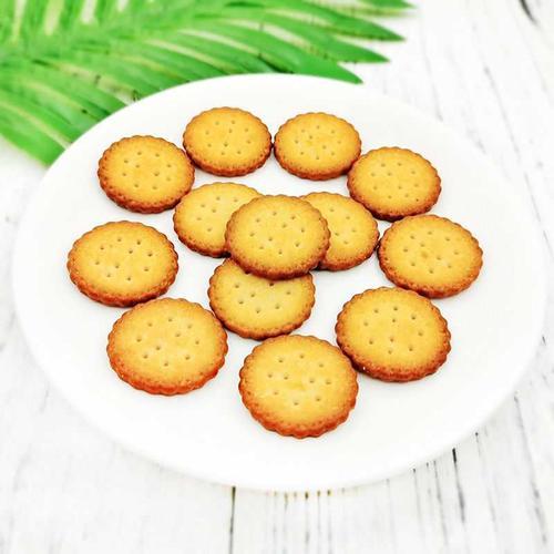 麦程日式小圆饼500g代餐点心南乳海盐味饼干网红零食