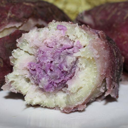 广东新鲜冰淇淋红薯一点红番薯现挖农家花心板栗薯紫薯5斤地瓜10