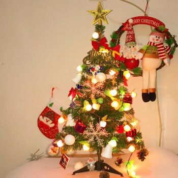 5米/1.8米圣诞树豪华加密套餐发光圣诞