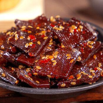 香辣湖南豆干长寿人家酱干平江特产香干豆腐干子小吃网红零食 香辣2包
