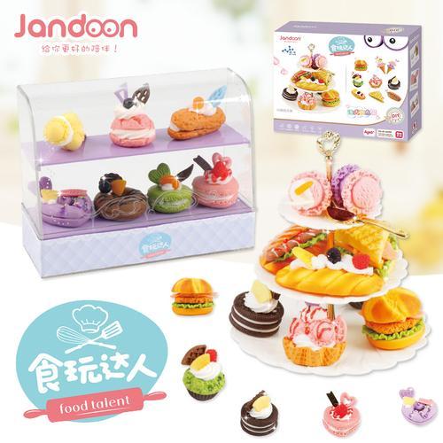 简动食玩达人仿真蛋糕马卡龙中国日本食玩不可食儿童