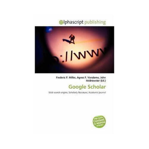 【预订】google scholar
